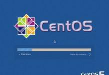 Setting Centos Server