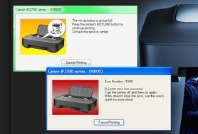 reset printer