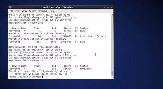 Mount NTFS on Linux